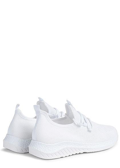 Seventyseven Lifestyle Damen Schuh Running Sneaker Struktursohle weiss