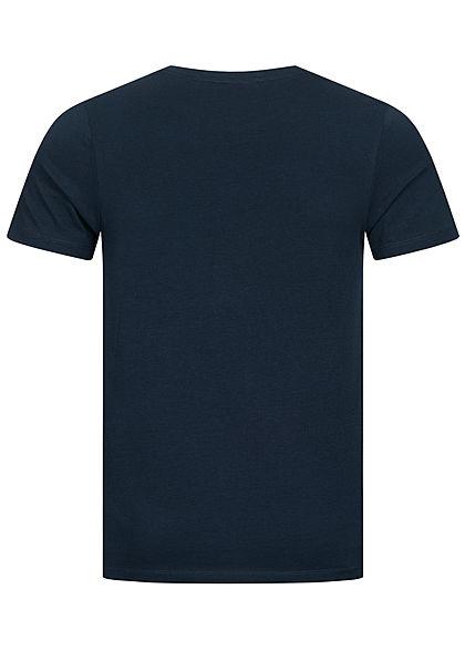 Jack and Jones Herren NOOS T-Shirt Logo Print sky captain blau