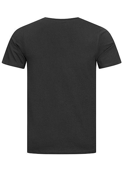 Jack and Jones Herren NOOS T-Shirt Logo Print schwarz