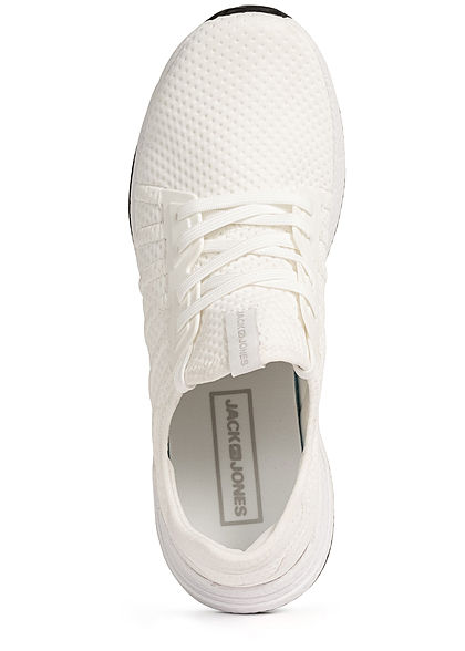 Jack and Jones Herren NOOS Schuh Running Mesh Sneaker bright weiss