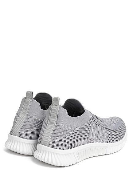 Seventyseven Lifestyle Damen Schuh Running Sneaker zum Schnüren medium grau