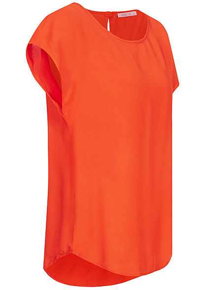 Hailys Damen Blusen Shirt Vokuhila orange