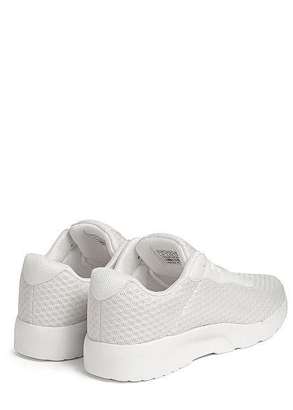 Seventyseven Lifestyle Damen Schuh Running Sneaker Mesh Optik weiss