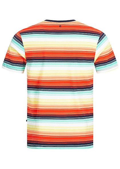 Hailys Herren T-Shirt Streifen Muster multicolor