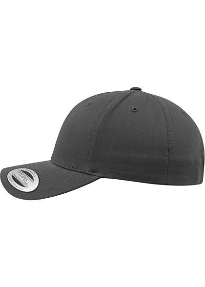 Flexfit Curved Classic Snapback Cap charcoal dunkel grau