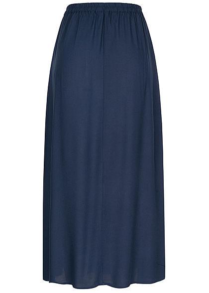 Vero Moda Damen Longform Rock Schlitze seitlich blazer navy blau unicolor