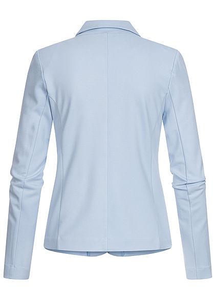 ONLY Damen NOOS Poptrash Blazer 2 Deko Taschen Schulterpolster cashmere blau