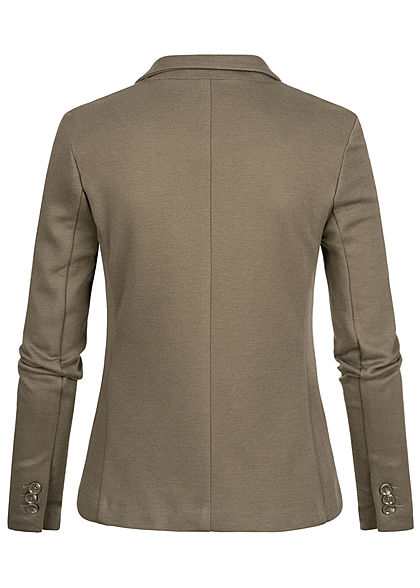 Vero Moda Damen Blazer 2-Pockets bungee cord oliv grün