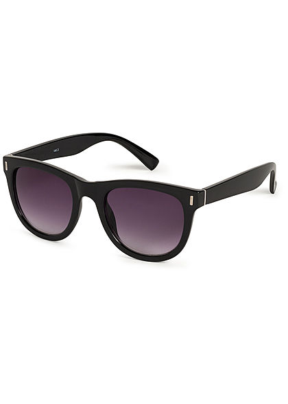 Hailys Damen kleine Cat Eye Sonnenbrille UV-400 Cat.3 schwarz