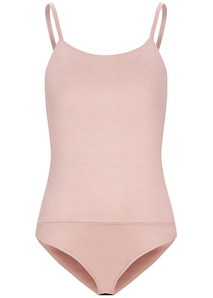 Fresh Lemons Damen Basic Träger Body old rose