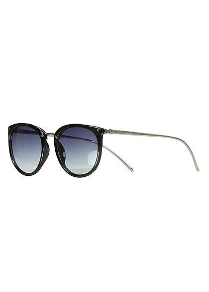Hailys Damen Sonnenbrille 2-Tone UV-400 Cat.3 schwarz gold