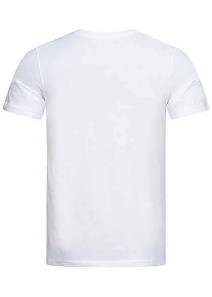 Jack and Jones Herren T-Shirt Logo Print weiss