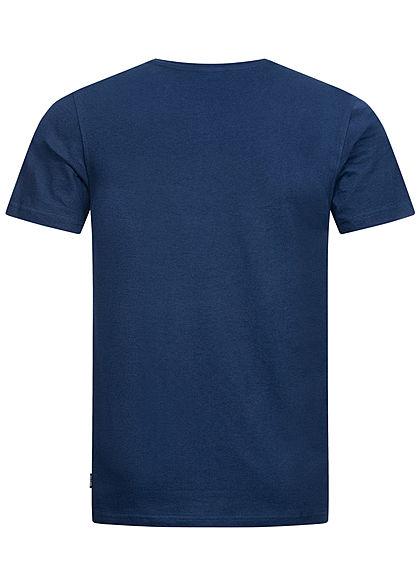 ONLY & SONS Herren T-Shirt Venice Beach Print dress blau