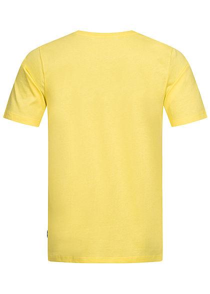 ONLY & SONS Herren T-Shirt Surfer Print limelight gelb