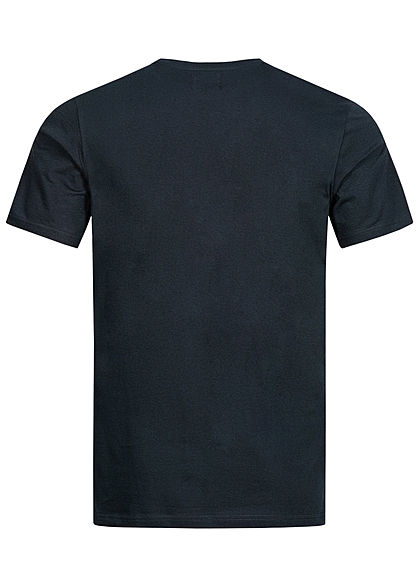 ONLY & SONS Herren T-Shirt Funny Animal Print schwarz