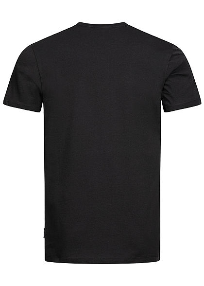 ONLY & SONS Herren T-Shirt Basketball Kobe Print schwarz