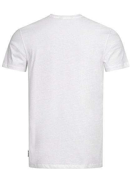 ONLY & SONS Herren T-Shirt Basketball Kobe Print weiss