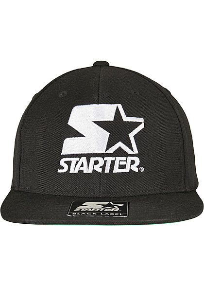 Starter Logo Snapback Cap schwarz