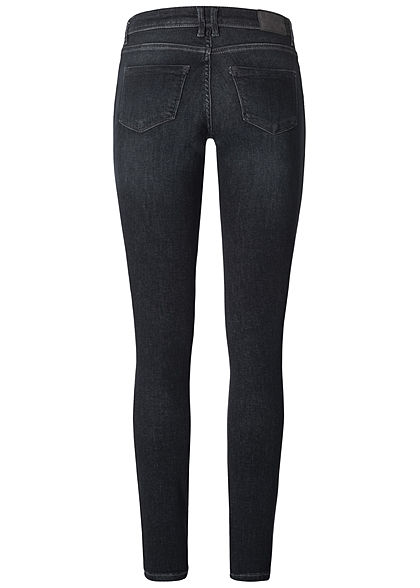 ONLY Damen NOOS Shape-Up Skinny Jeans Hose 5-Pockets schwarz denim