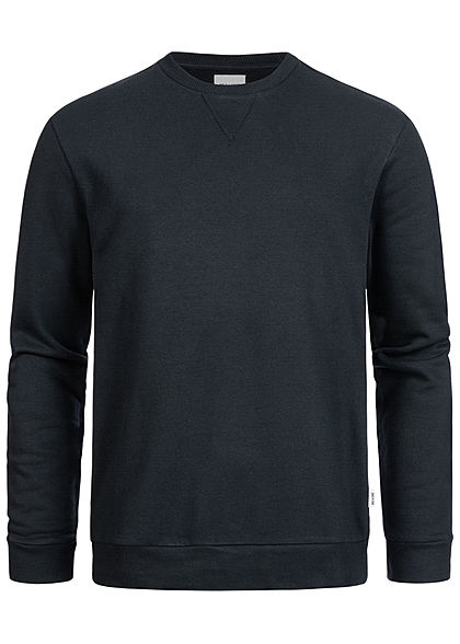 ONLY & SONS Herren Basic Sweater Pullover Rippbündchen schwarz - Art.-Nr.: 20073657