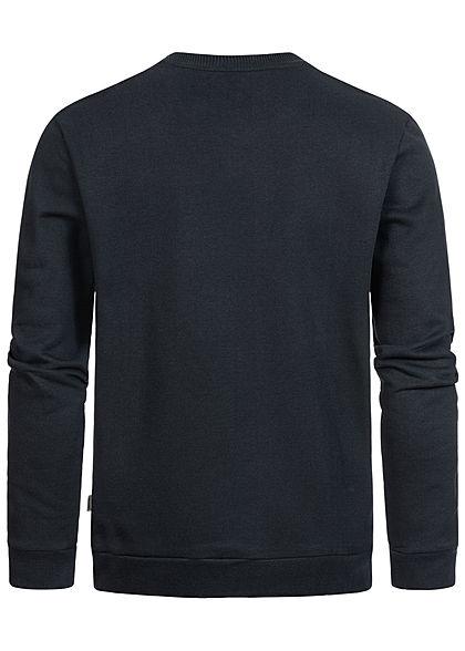 ONLY & SONS Herren Basic Sweater Pullover Rippbündchen schwarz