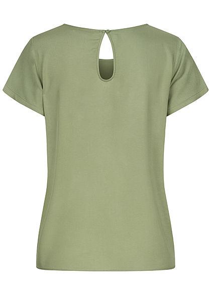 ONLY Damen NOOS Solid Blusen Shirt hedge grün
