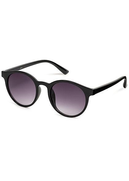 Hailys Damen Ovale Sonnenbrille UV-400 Cat.3 schwarz