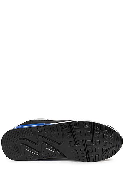 Seventyseven Lifestyle Herren Schuh Sneaker zum Schnüren blau grau schwarz