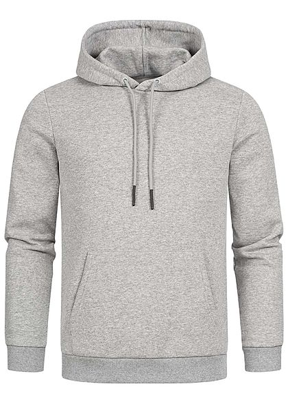 ONLY & SONS Herren NOOS Hoodie Pullover Kapuze Regular Fit hell grau melange - Art.-Nr.: 20094288