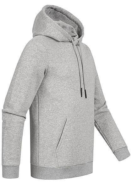 ONLY & SONS Herren NOOS Hoodie Pullover Kapuze Regular Fit hell grau melange
