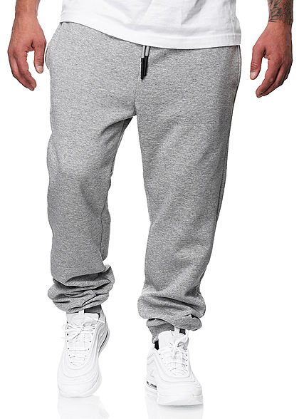 ONLY & SONS Herren NOOS Basic Jogginghose Sweatpant 3-Pockets hell grau melange - Art.-Nr.: 20094337