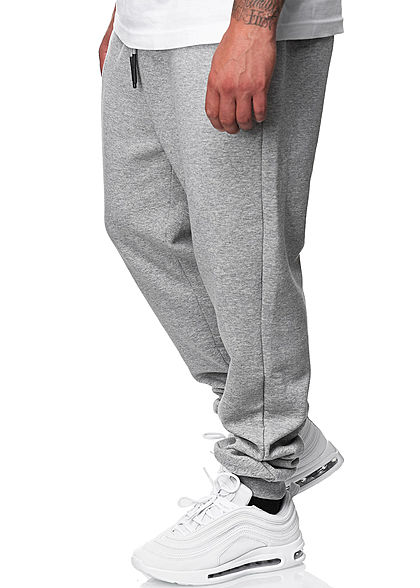 ONLY & SONS Herren NOOS Basic Jogginghose Sweatpant 3-Pockets hell grau melange