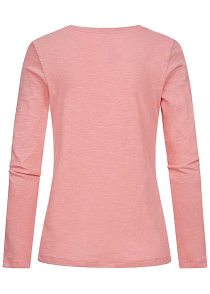Tom Tailor Damen Longsleeve blush rosa