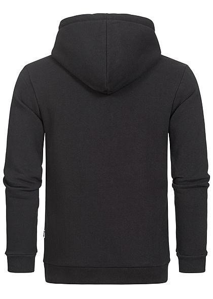 ONLY & SONS Herren NOOS Basic Zip-Hoodie Sweat Jacke Kapuze 2-Pockets schwarz