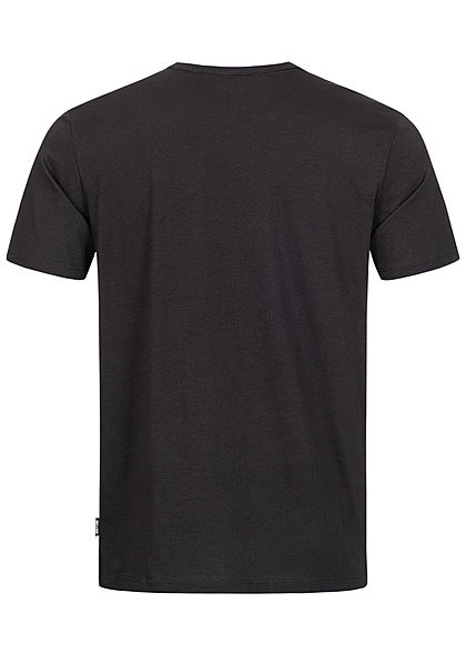 ONLY & SONS Herren T-Shirt Infinito Frontprint Slim Fit schwarz weiss