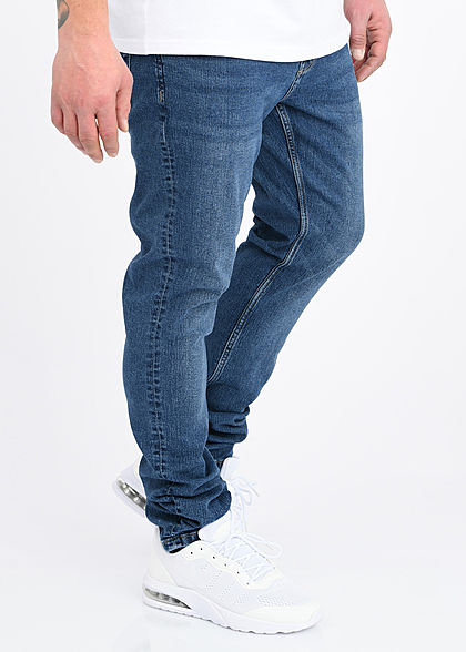 ONLY & SONS Herren Slim Fit Jeans Hose 5-Pockets blau denim