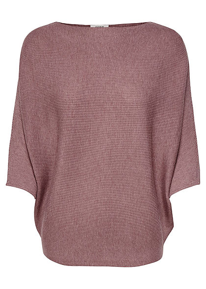 JDY by ONLY Damen NOOS 1/2 Fledermausarm Pullover wistful mauve lila