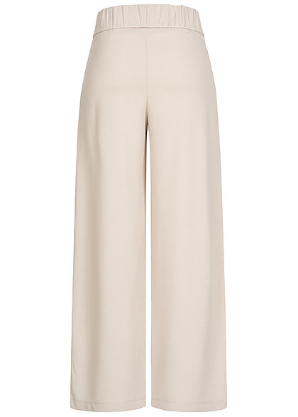 JDY by ONLY Damen NOOS Culotte Stoffhose 2-Pockets chateau gray beige