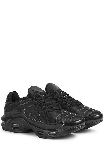 Seventyseven Lifestyle Damen Schuh Sneaker zum schnüren schwarz