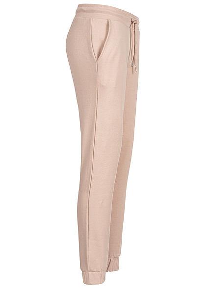 Urban Classics Damen Basic Sweatpants Jogginghose 2-Pockets hell rosa