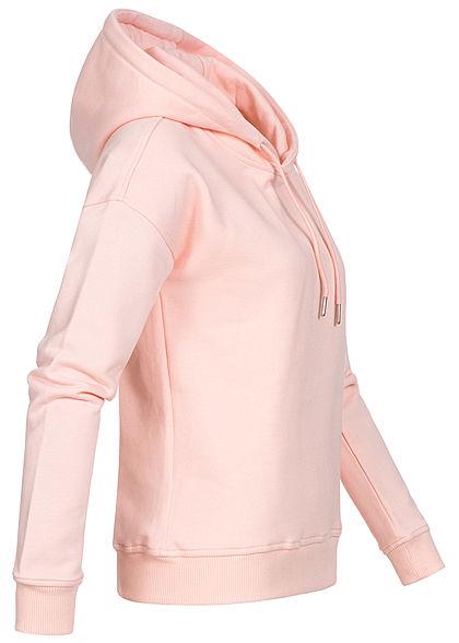 Urban Classics Damen Basic Hoodie mit Kapuze pink