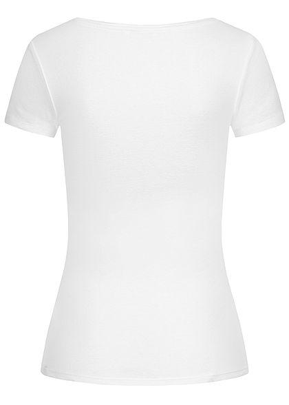 TALLY WEiJL Damen Basic T-Shirt weiss
