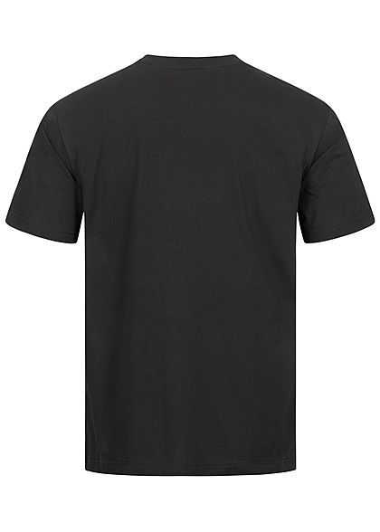 Champion Herren T-Shirt USA Frontprint Comfort Fit schwarz weiss rot