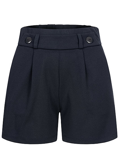 JDY by ONLY Damen NOOS Jersey Shorts mit elastischem Bund 2-Pockets sky captain - Art.-Nr.: 21020629