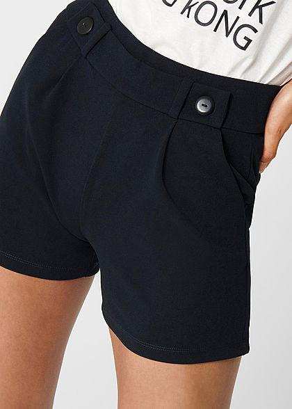 JDY by ONLY Damen NOOS Jersey Shorts mit elastischem Bund 2-Pockets sky captain
