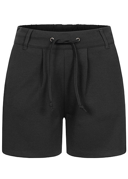 JDY by ONLY Damen NOOS Shorts 2-Pockets Tunnelzug schwarz - Art.-Nr.: 21020633