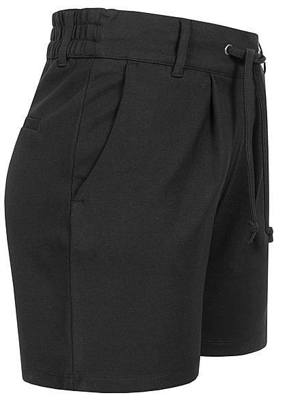 JDY by ONLY Damen NOOS Shorts 2-Pockets Tunnelzug schwarz