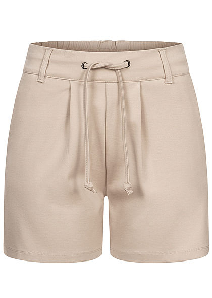 JDY by ONLY Damen NOOS Shorts 2-Pockets Tunnelzug chateau grau - Art.-Nr.: 21020634