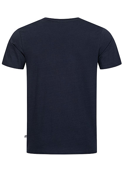 Hailys Herren T-Shirt Surf the Sun Print navy blau
