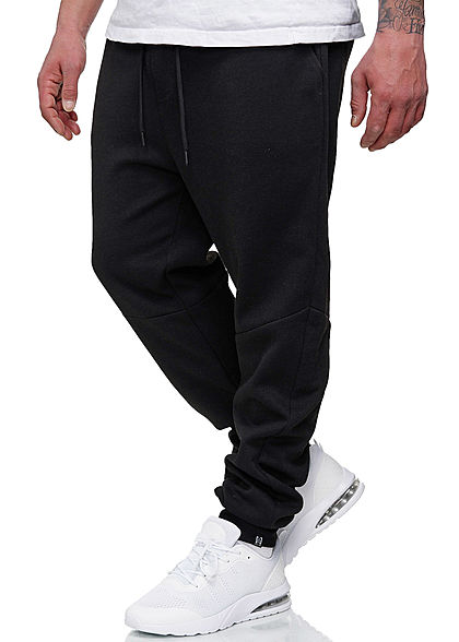 Hailys Herren Sweat Pants Jogginghose 3-Pockets schwarz